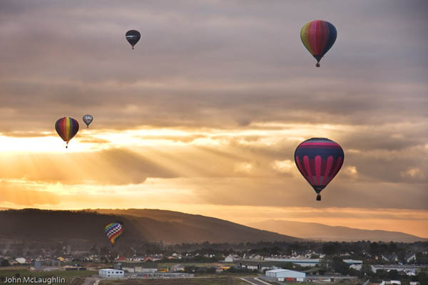 The Irish National Hot Air Balloon Championships return to Waterford