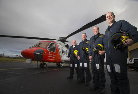 Image 1 of New S92 Search and rescue Helicopter Launched at Waterford Airport